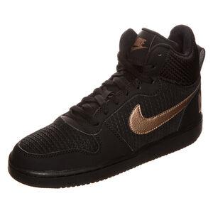 Court Borough Mid Premium Sneaker Damen, Schwarz, zoom bei OUTFITTER Online