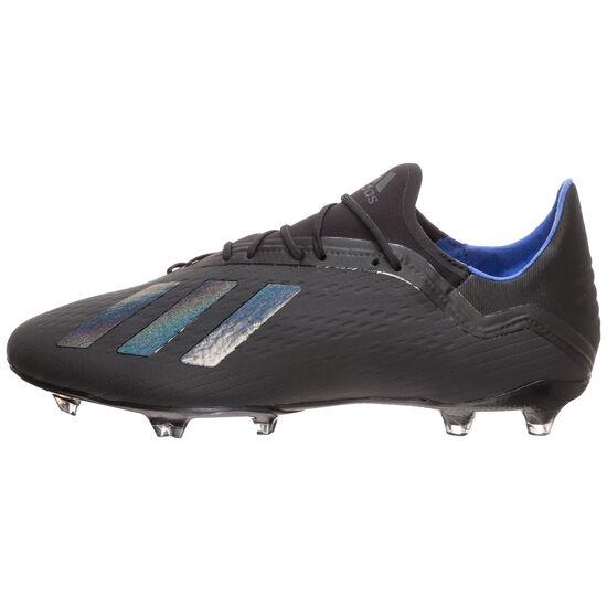 X 18.2 FG Fußballschuh Herren, schwarz / blau, zoom bei OUTFITTER Online