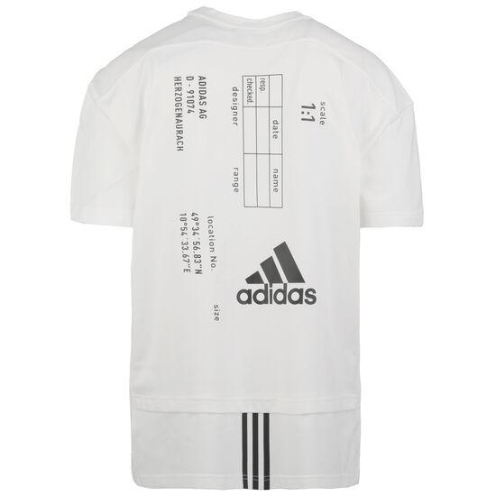 Tech T-Shirt Herren, weiß, zoom bei OUTFITTER Online