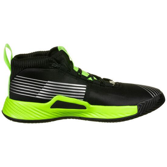 Dame 5 Star Wars Lightsaber Basketballschuh Herren, schwarz / neongrün, zoom bei OUTFITTER Online