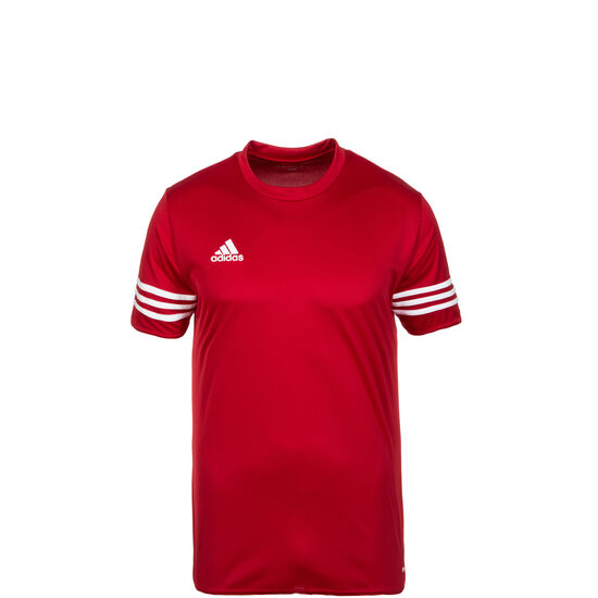 Entrada 14 Fußballtrikot Kinder, rot / weiß, zoom bei OUTFITTER Online