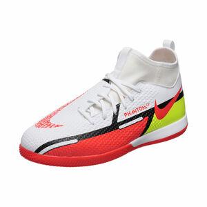 Phantom GT2 Academy DF Indoor Fußballschuh Kinder, weiß / rot, zoom bei OUTFITTER Online
