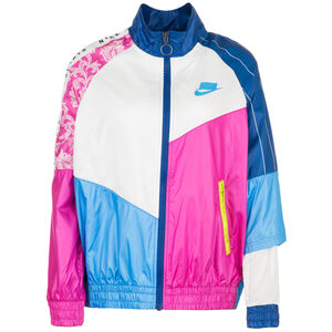 Track Woven Jacke Damen, pink / blau, zoom bei OUTFITTER Online