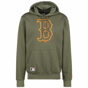 MLB Boston Red Sox Seasonal Team Logo Kapuzenpullover Herren, oliv / orange, zoom bei OUTFITTER Online