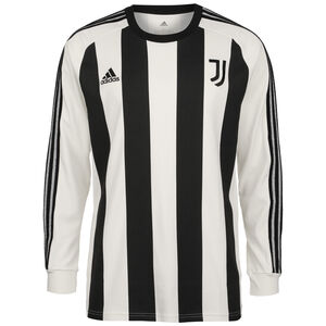 Juventus Turin Icons Longsleeve Herren, weiß / schwarz, zoom bei OUTFITTER Online