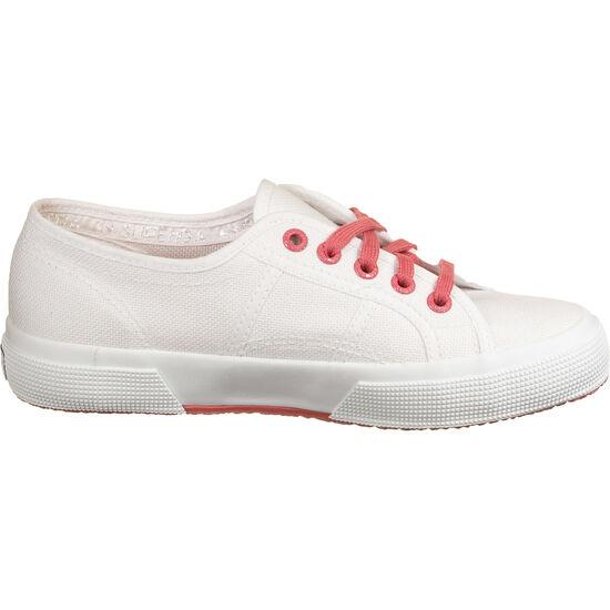 2750-COT Contrastu Sneaker Damen, weiß / korall, zoom bei OUTFITTER Online