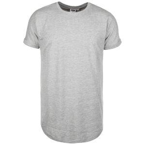 Long Shaped Turnup T-Shirt Herren, grau, zoom bei OUTFITTER Online