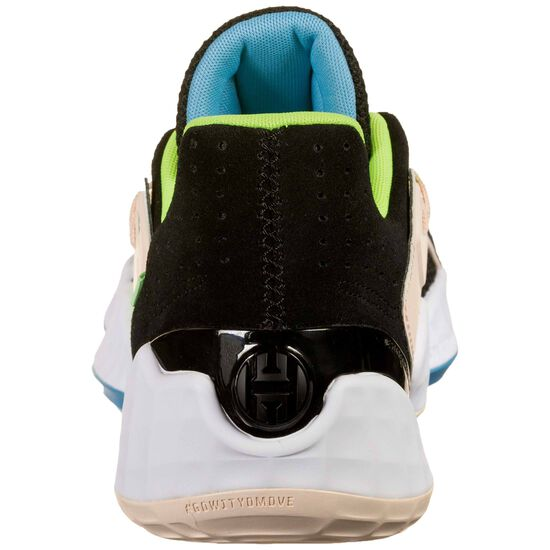 Harden Vol. 4 GCA Basketballschuh Herren, schwarz / neongrün, zoom bei OUTFITTER Online