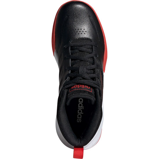 Own the Game Wide Basketballschuhe Kinder, schwarz / rot, zoom bei OUTFITTER Online
