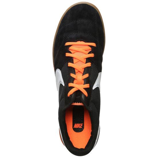 Tiempo Premier II Sala Hallenfußballschuh Herren, schwarz / orange, zoom bei OUTFITTER Online