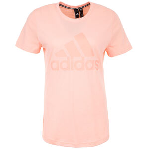Must Haves Badge of Sport T-Shirt Damen, rosa, zoom bei OUTFITTER Online