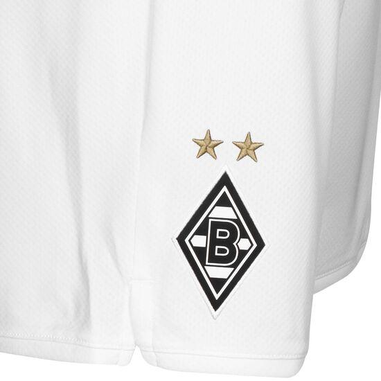 Borussia Mönchengladbach Short Home 2019/2020 Herren, weiß, zoom bei OUTFITTER Online