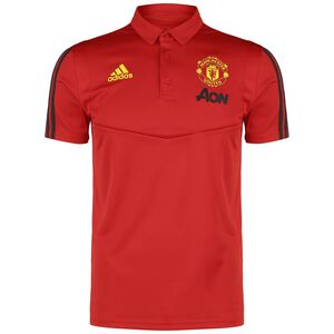 Manchester United Poloshirt Herren, rot / gelb, zoom bei OUTFITTER Online