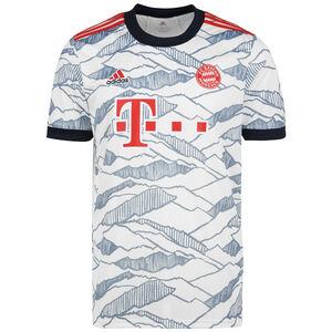FC Bayern München Trikot 3rd 2021/2022 Herren, weiß / blau, zoom bei OUTFITTER Online