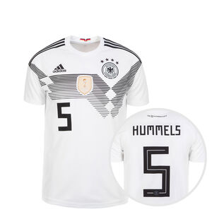 DFB Trikot Home Hummels WM 2018 Kinder, Weiß, zoom bei OUTFITTER Online