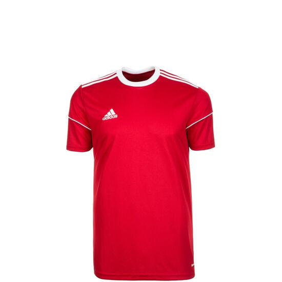 Squadra 17 Fußballtrikot Kinder, rot / weiß, zoom bei OUTFITTER Online