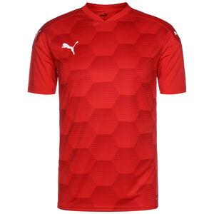 teamFinal 21 Graphic Fußballtrikot Herren, rot, zoom bei OUTFITTER Online