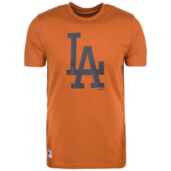 MLB Seasonal Team Logo Los Angeles Dodgers T-Shirt, braun / anthrazit, zoom bei OUTFITTER Online