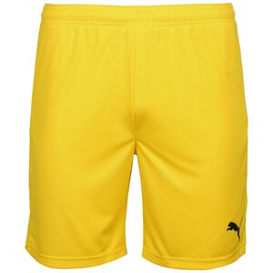 TeamGOAL 23 Knit Trainingsshort Herren, gelb, zoom bei OUTFITTER Online