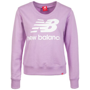 Essentials Crew Sweatshirt Damen, flieder, zoom bei OUTFITTER Online