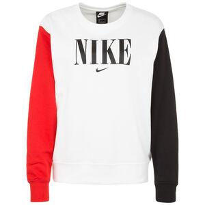 Essential Crew FT HBR Sweatshirt Damen, weiß / rot, zoom bei OUTFITTER Online