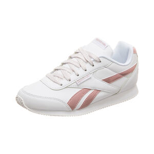 Royal Classic Jog 2 Sneaker Kinder, weiß / pink, zoom bei OUTFITTER Online