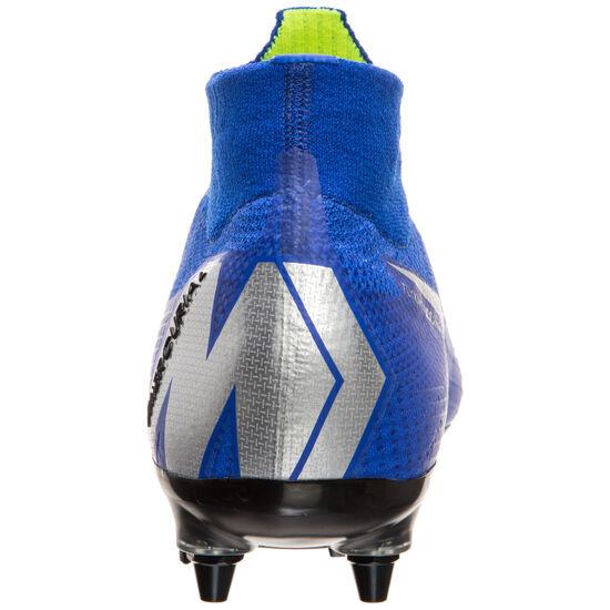 Mercurial Superfly VI Elite DF SG-Pro AC Fußballschuh Herren, blau / silber, zoom bei OUTFITTER Online