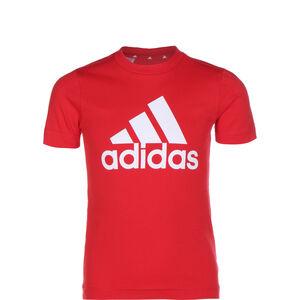Essentials T-Shirt Kinder, rot / weiß, zoom bei OUTFITTER Online