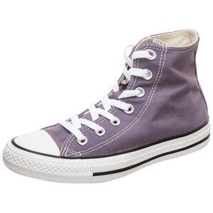 Chuck Taylor All Star Classic High Sneaker Damen, lila / weiß, zoom bei OUTFITTER Online