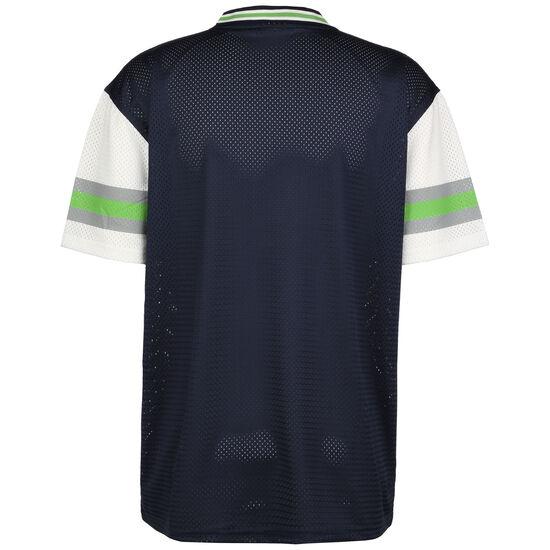 NFL Seattle Seahawks Stripe Sleeve Oversized T-Shirt Herren, dunkelblau / hellgrün, zoom bei OUTFITTER Online