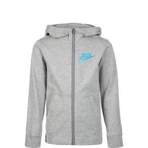 Sportswear Trainingskapuzenjacke Kinder, grau, zoom bei OUTFITTER Online