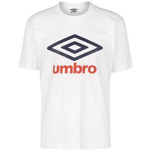 Large Logo Trainingsshirt Herren, weiß / dunkelblau, zoom bei OUTFITTER Online