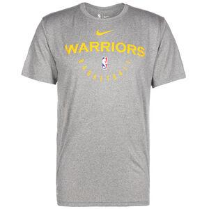 NBA Golden State Warriors T-Shirt Herren, grau / gelb, zoom bei OUTFITTER Online