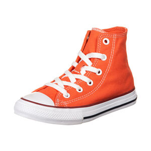 Chuck Taylor All Star Seasonal High Sneaker Kinder, korall / weiß, zoom bei OUTFITTER Online