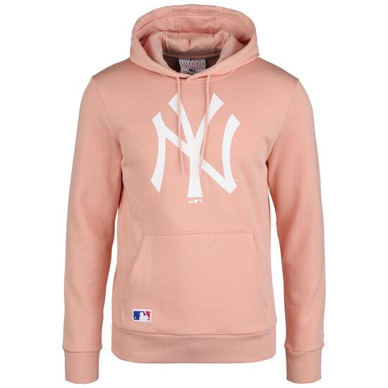MLB New York Yankees Seasonal Team Logo Kapuzenpullover Herren, rosa / weiß, zoom bei OUTFITTER Online