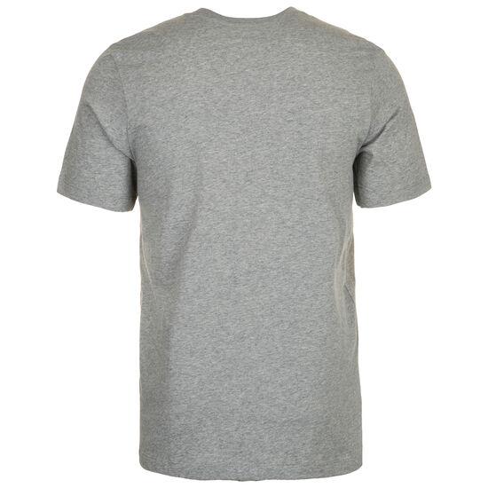 Swoosh T-Shirt Herren, grau / weiß, zoom bei OUTFITTER Online