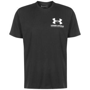 Performance Big Logo T-Shirt Herren, schwarz, zoom bei OUTFITTER Online