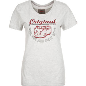 Van One Original Ride T-Shirt Damen, grau / bordeaux, zoom bei OUTFITTER Online