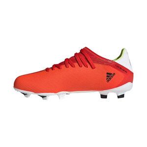 X Speedflow.3 FG Fußballschuh Kinder, rot / weiß, zoom bei OUTFITTER Online
