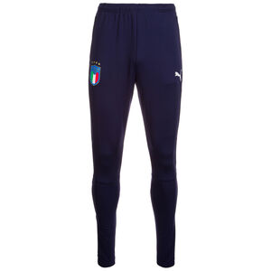 FIGC Italien Trainingshose Herren, Blau, zoom bei OUTFITTER Online