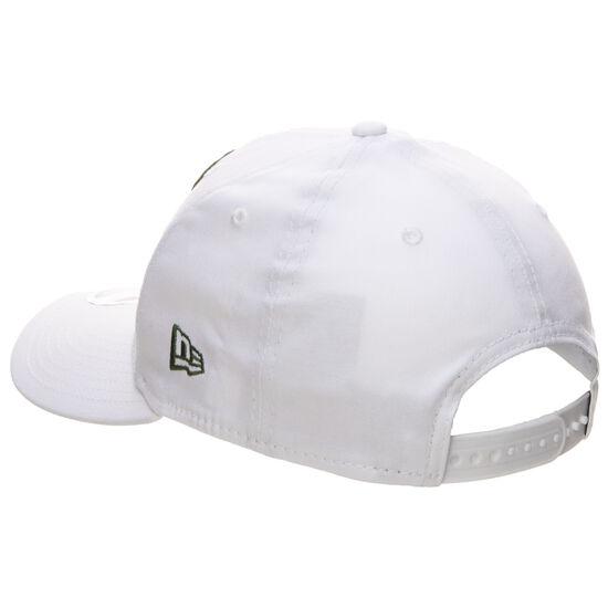 9FIFTY NBA White Base Milwaukee Bucks Cap, weiß / grün, zoom bei OUTFITTER Online