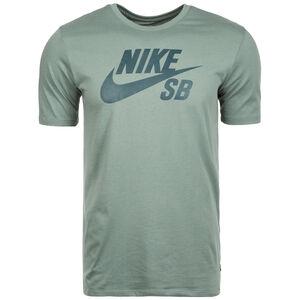 Logo T-Shirt Herren, grün / dunkelgrün, zoom bei OUTFITTER Online