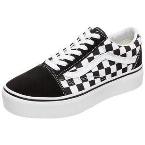 Old Skool Platform Sneaker Damen, schwarz / weiß, zoom bei OUTFITTER Online