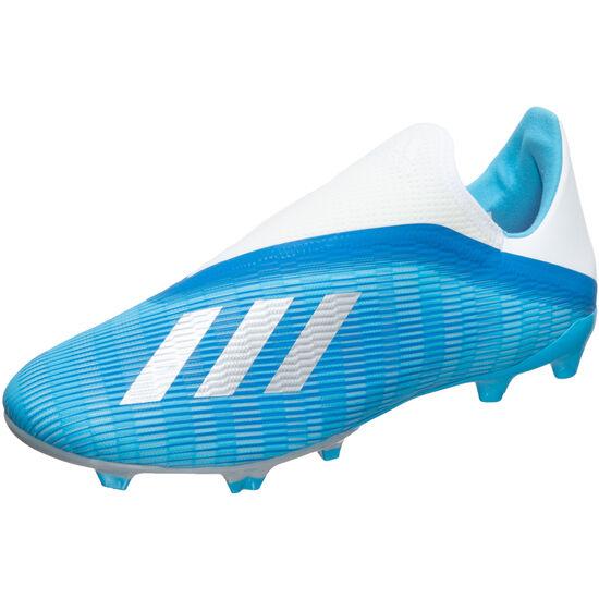 X 19.3 LL FG Fußballschuh Herren, hellblau / schwarz, zoom bei OUTFITTER Online