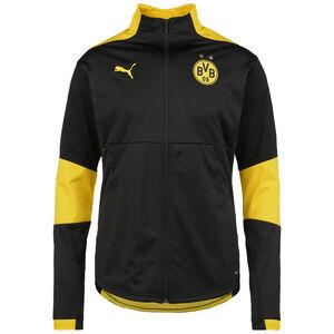 Borussia Dortmund Trainingsjacke Herren, schwarz / gelb, zoom bei OUTFITTER Online