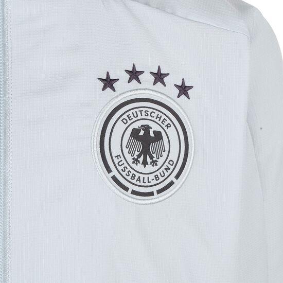 DFB Präsentationsjacke EM 2021 Kinder, hellgrau / schwarz, zoom bei OUTFITTER Online
