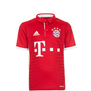 FC Bayern München Trikot Home 2016/2017 Kinder, Rot, zoom bei OUTFITTER Online