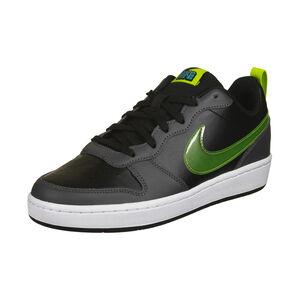 Court Borough Low 2 Sneaker Kinder, schwarz / hellgrün, zoom bei OUTFITTER Online
