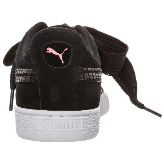 Suede Heart Street 2 Sneaker Damen, Schwarz, zoom bei OUTFITTER Online