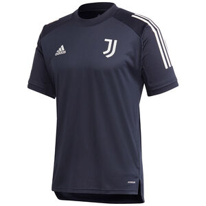 Juventus Turin Trainingsshirt Herren, dunkelblau / hellgrau, zoom bei OUTFITTER Online